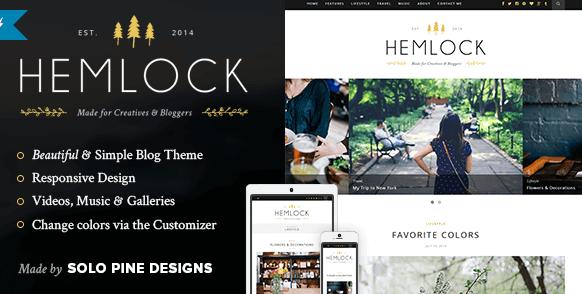 The Hemlock theme.