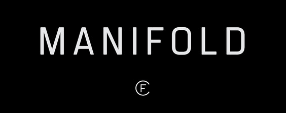 The Manifold font.