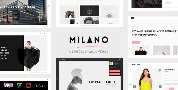 The Milano theme.