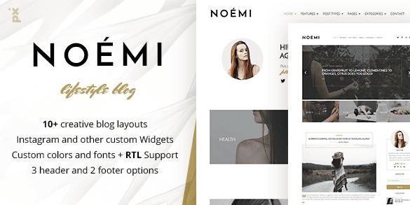 The Noemi theme.