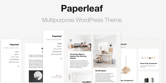 The Paperleaf theme.