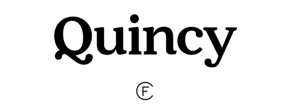 The Quincy CF font.