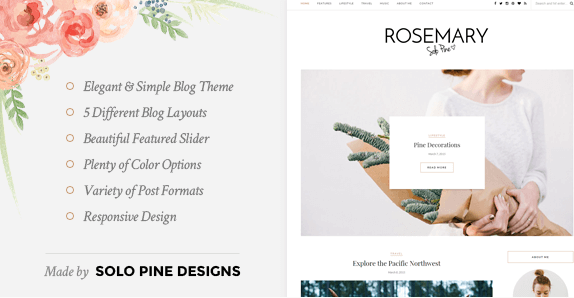 The Rosemary theme.