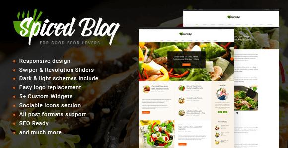 The Spiced Blog theme.