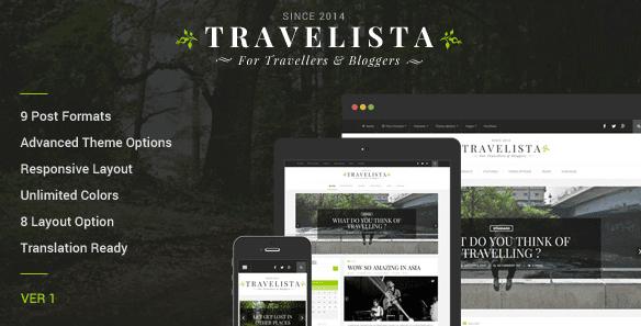 The Travelista theme.