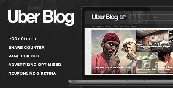 The Uber Blog theme.