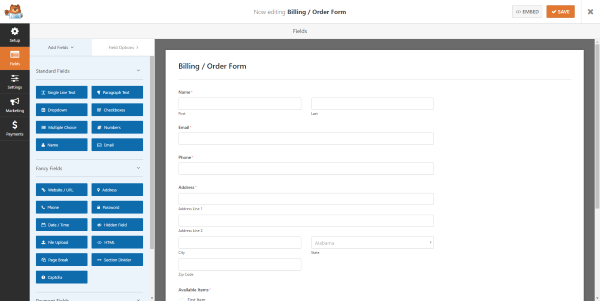 creating-a-billing-order-form