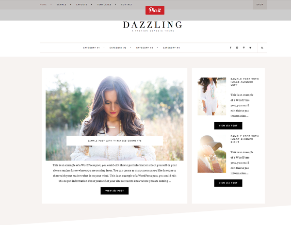 Best Theme For WordPress Fashion Bloggers