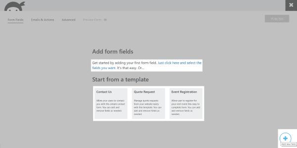 form-fields