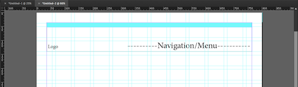 INDD Wireframe