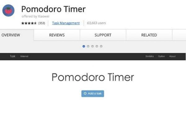 Pomodoro Timer.