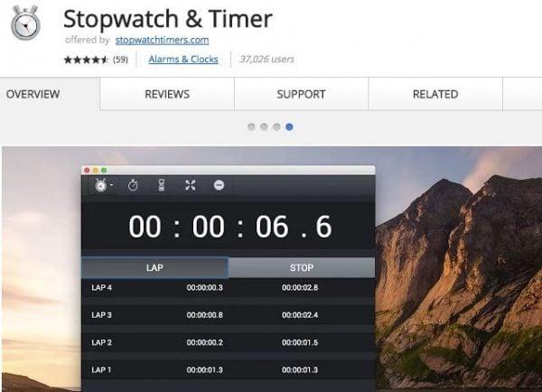 Stopwatch & Timer.