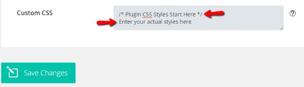 Divi CSS comment