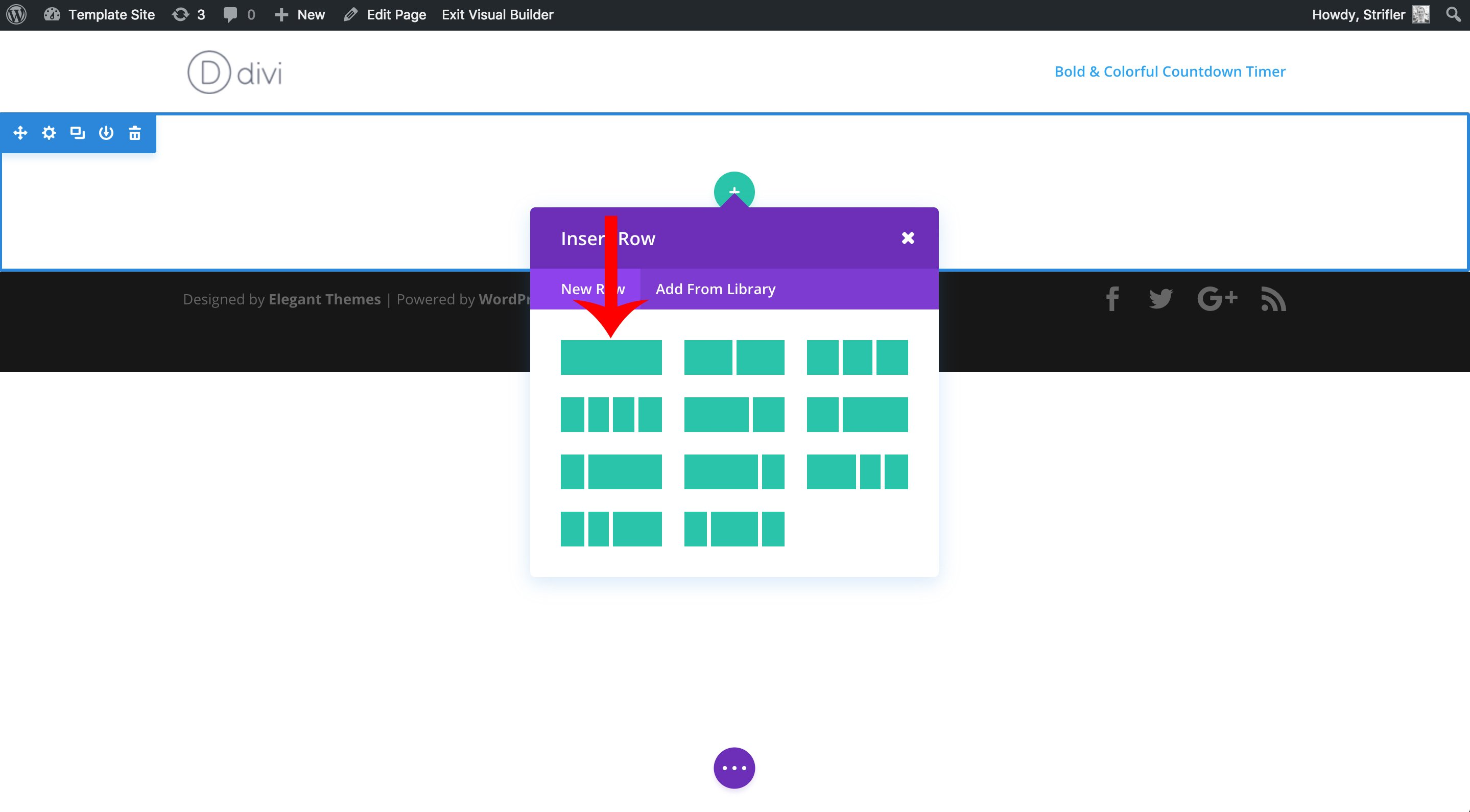 adding-rows-to-divi-visual-builder