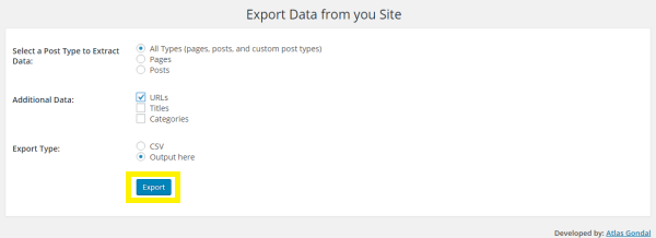 expand sections wordpress without plugin