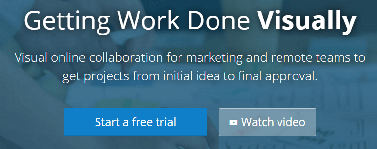 A screenshot from Conceptboard's homepage