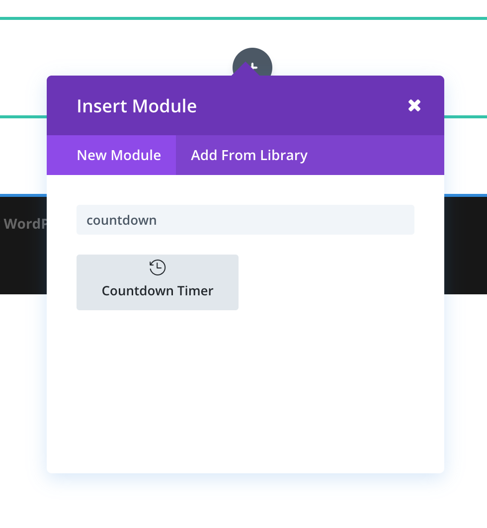 inserting-countdown-timer-in-divi
