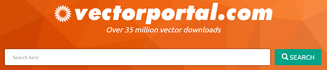 The Vector Portal homepage.