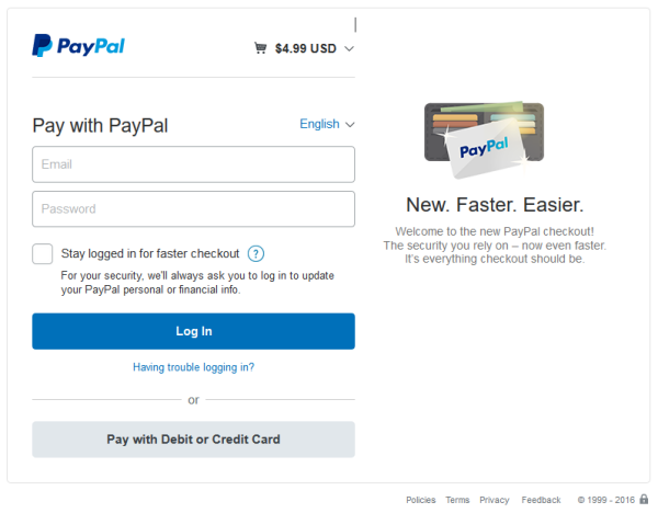 contact-form-7-paypal-checkout-screen