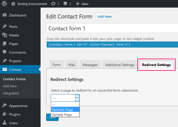 contact-form-7-redirect-dropdown