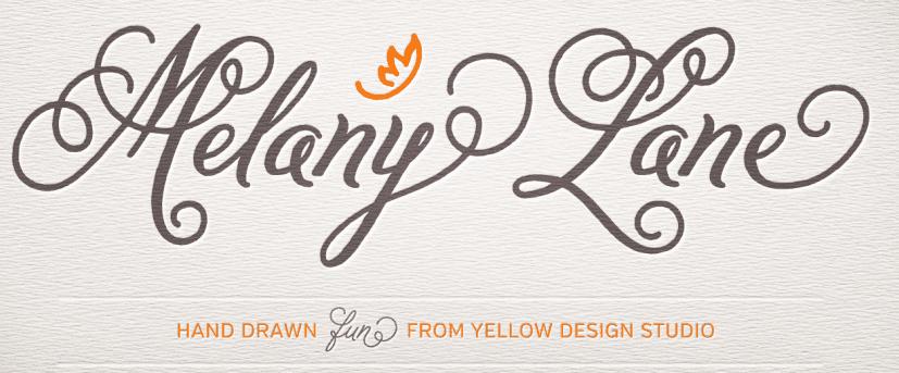 Melany Lane font
