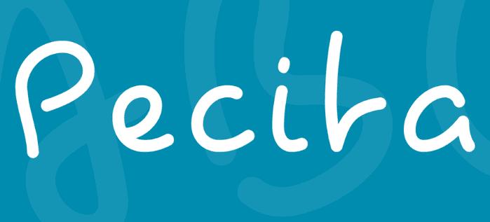 Pecita handwriting font