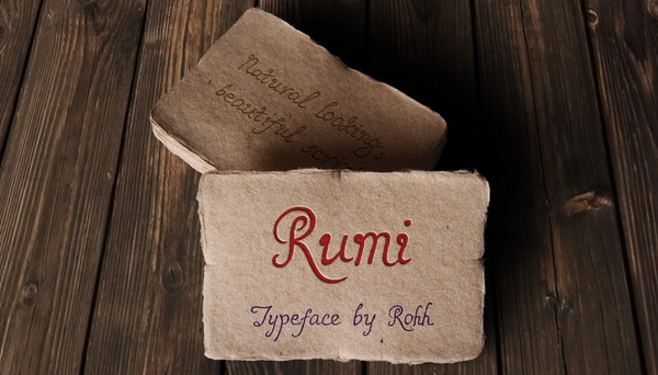 In addition, Rumi can be applied to many designs