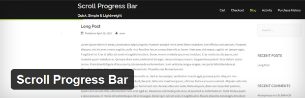 how to add a reading progress bar in wordpress  a quick guide