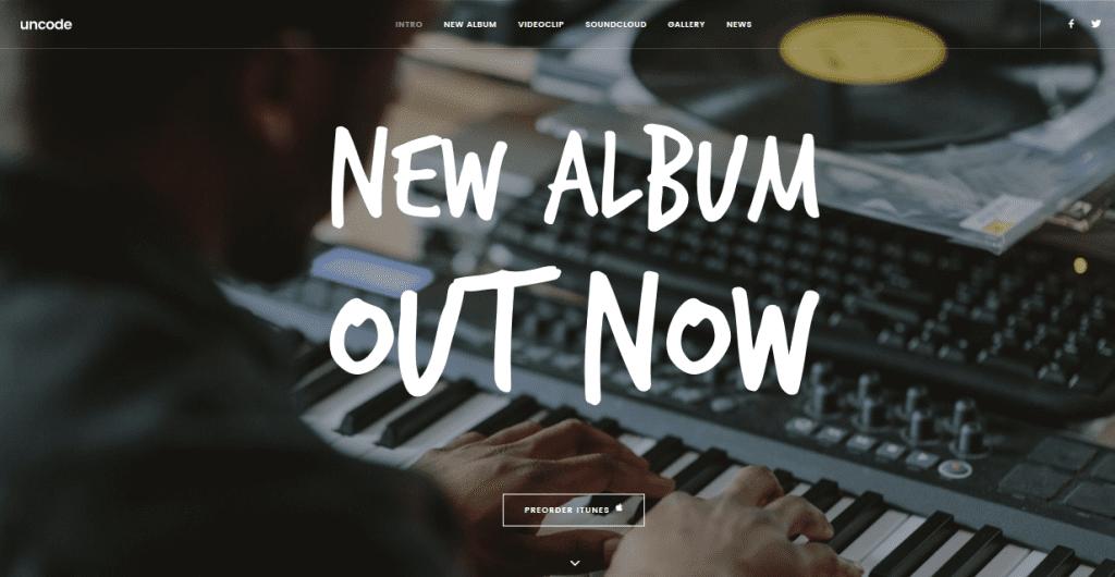 Uncode theme demo homepage