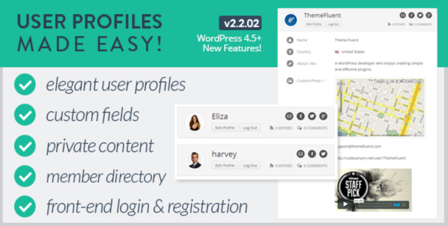 The User Profile Made Easy title image from Code Canyon