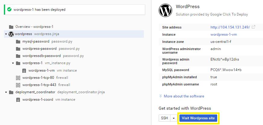 Visit WordPress site
