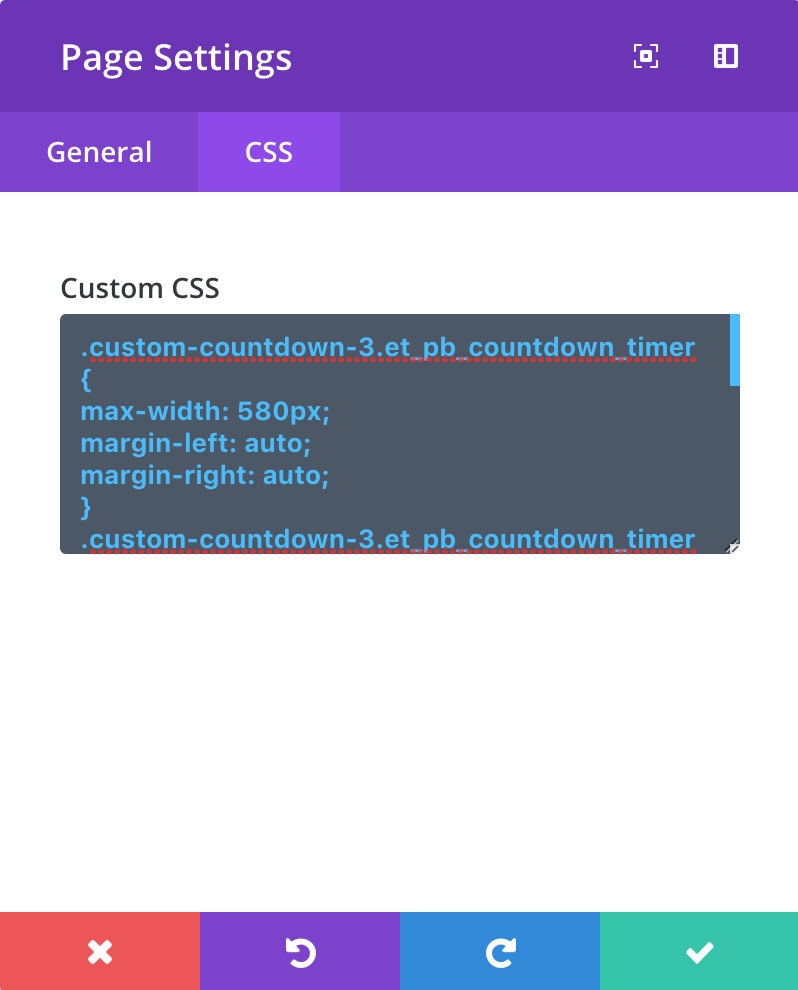 custom-css-in-divi-page-settings