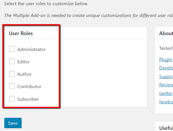 customize-by-user-role