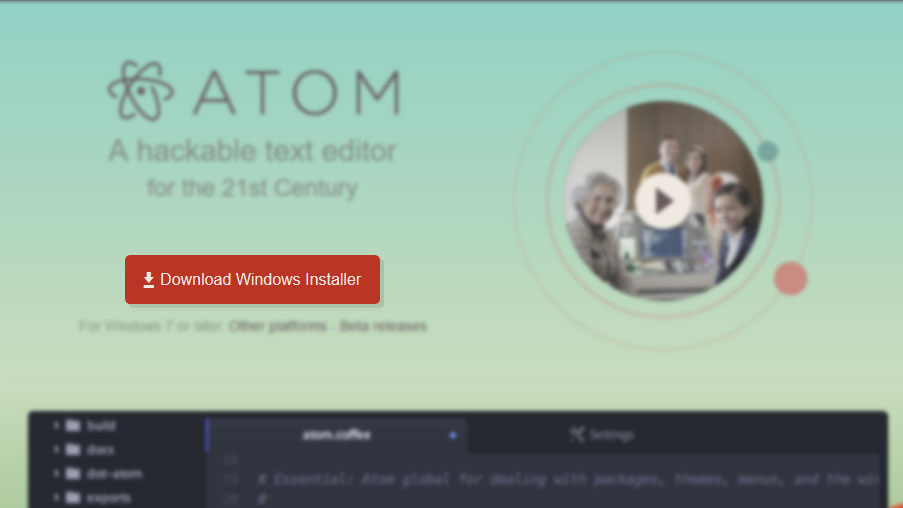 Atom Text Editor Free Download For Windows