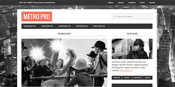 25 Best Magazine WordPress Themes for Editorial Sites in 2017 ...
