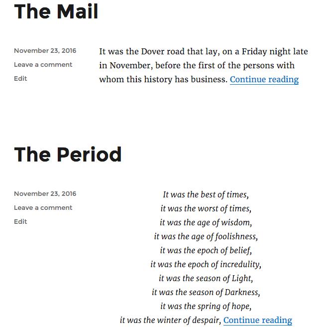 發布按字母升序排列。
