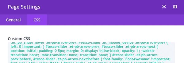 post-slider-module-page-settings-css-tab