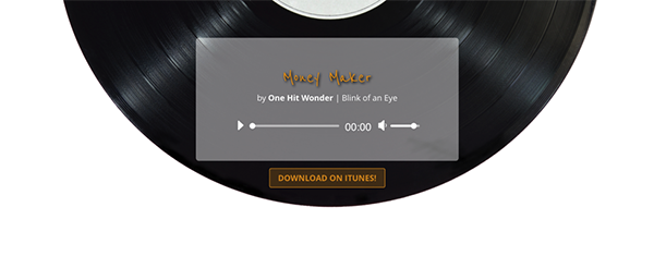 How to Make a Retro Record Inspired Divi Audio Module
