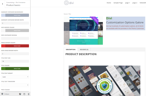 divi-commerce-divi-customizer-product-basics