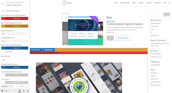 divi-commerce-divi-customizer-tabs-customizer