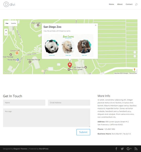 Divi Plugin Highlight – Map Extended Module | Elegant Themes Blog