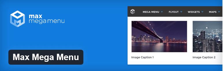 The Max Mega Menu title image from WordPress.org