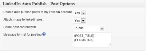 LinkedIn Auto Publish