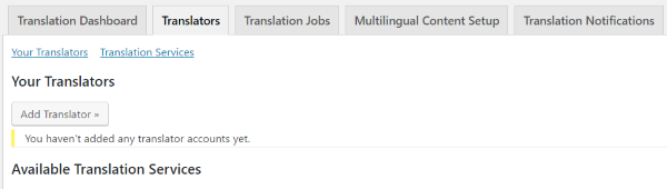 how to translate user wpml