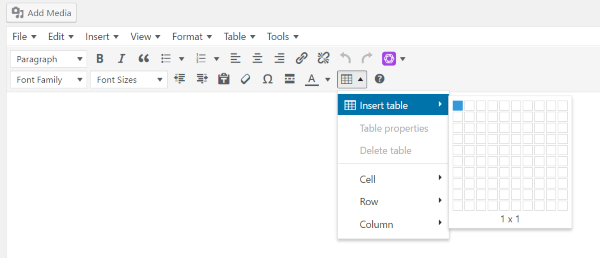 How to Create Responsive Tables in WordPress | Elegant