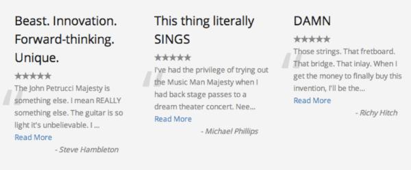 Rich Reviews