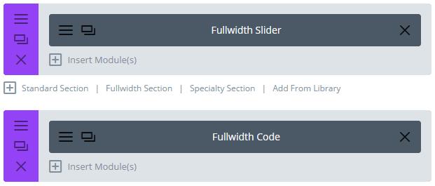 The Divi Code module.