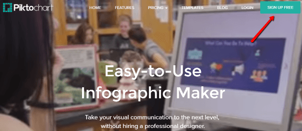 how to create an infographic on piktochart