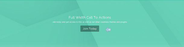 A Divi Call To Action module example