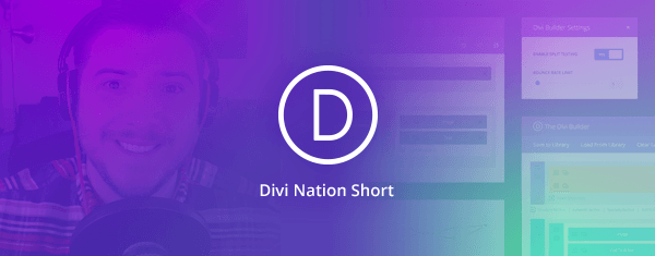 2017: Fostering The Most Empowered Community On The Web – Divi Nation Short